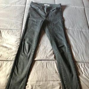 Lévis black skinny jeans